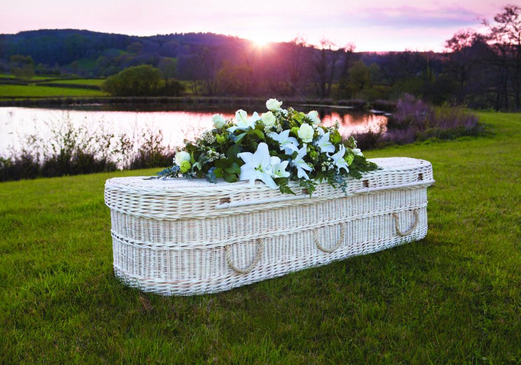 Cane Coffin Sunset