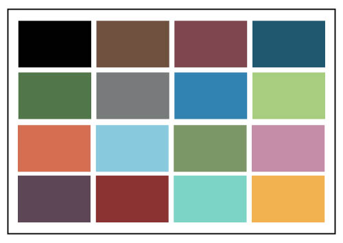 Colours for Somerset